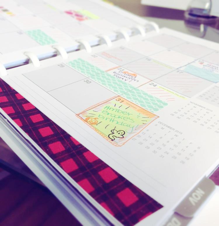 My 2015 Planner